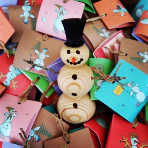 Čokoládové vánoční tvoření